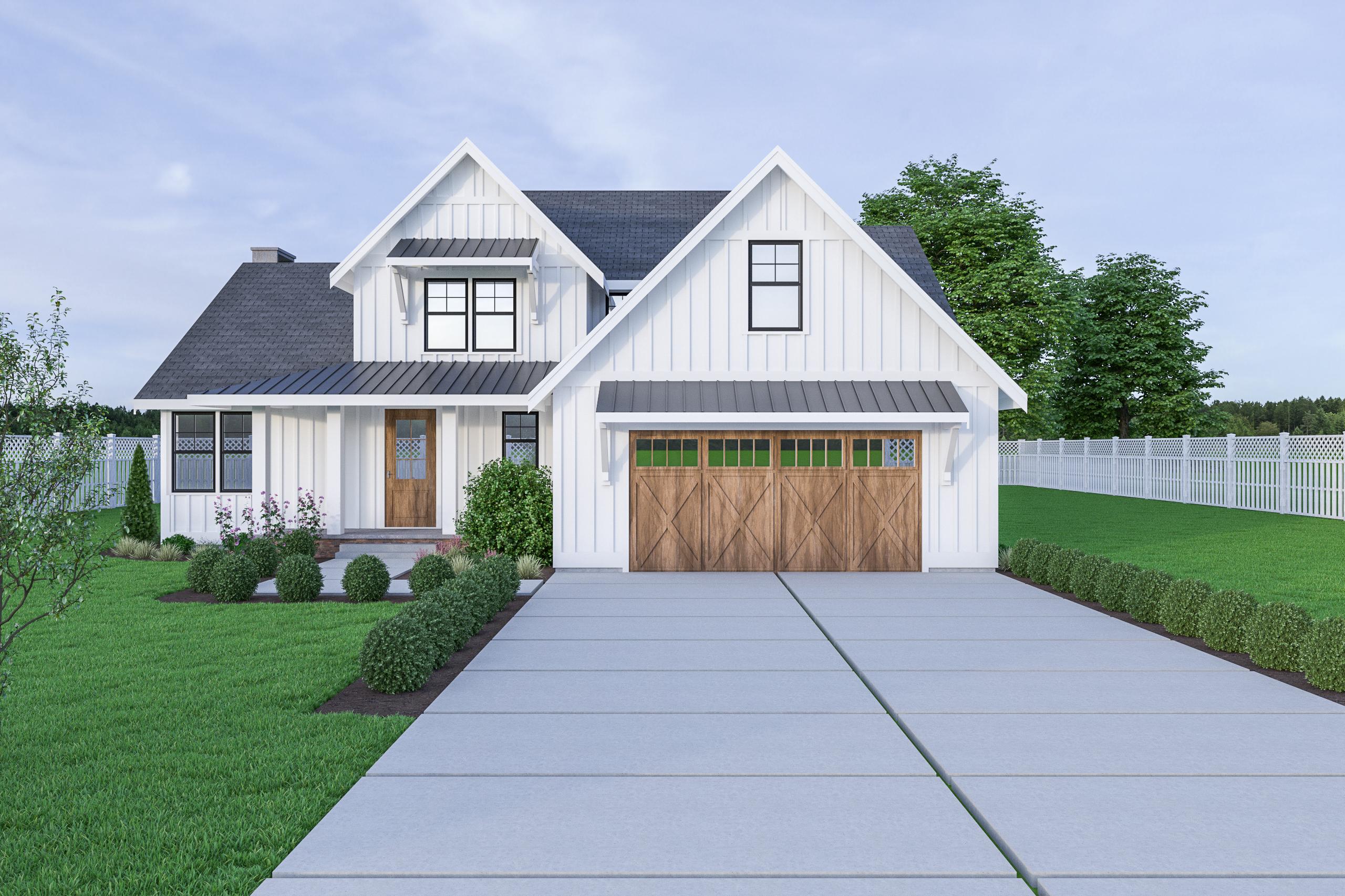 Contemporary Farmhouse 810 17-164