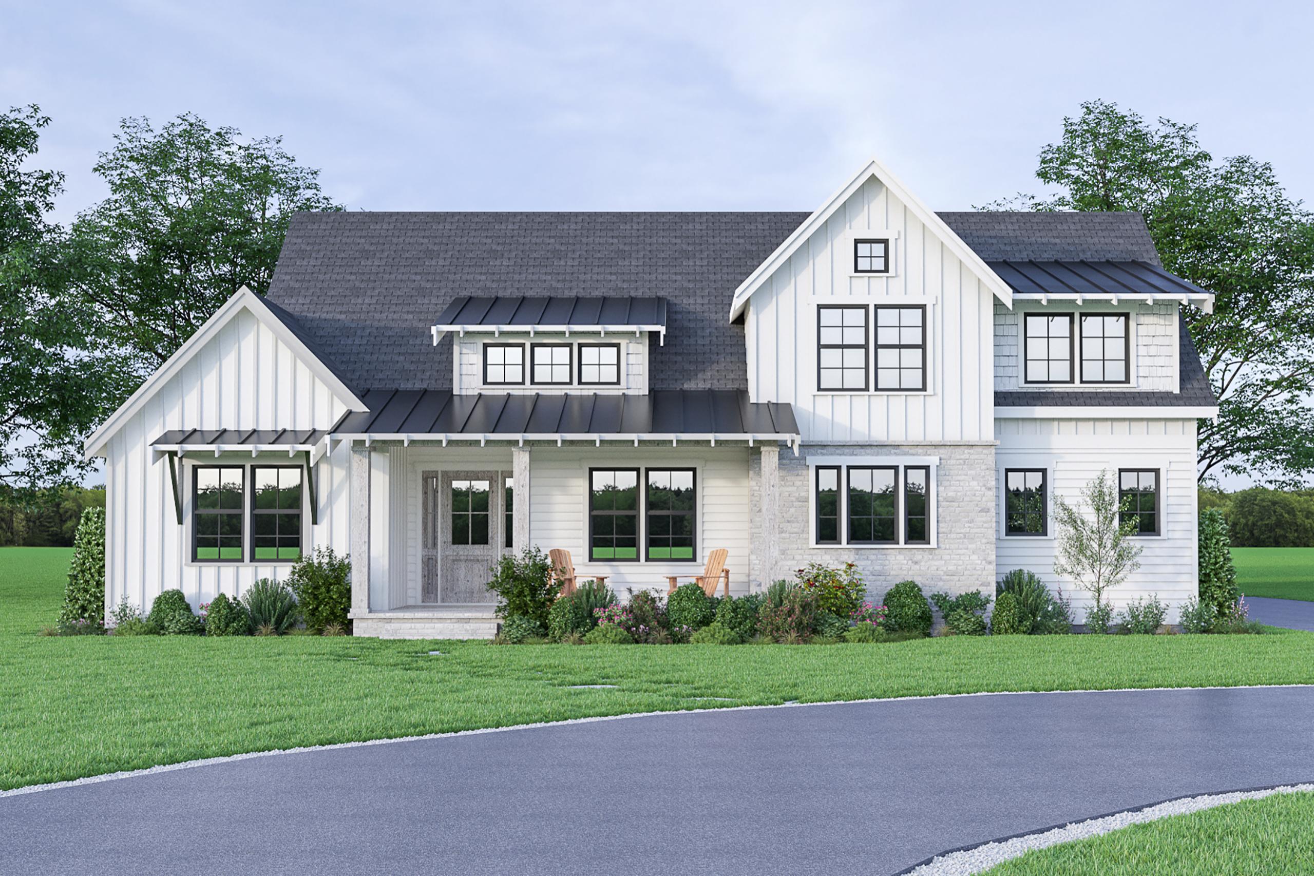 Contemporary Farmhouse 826 826