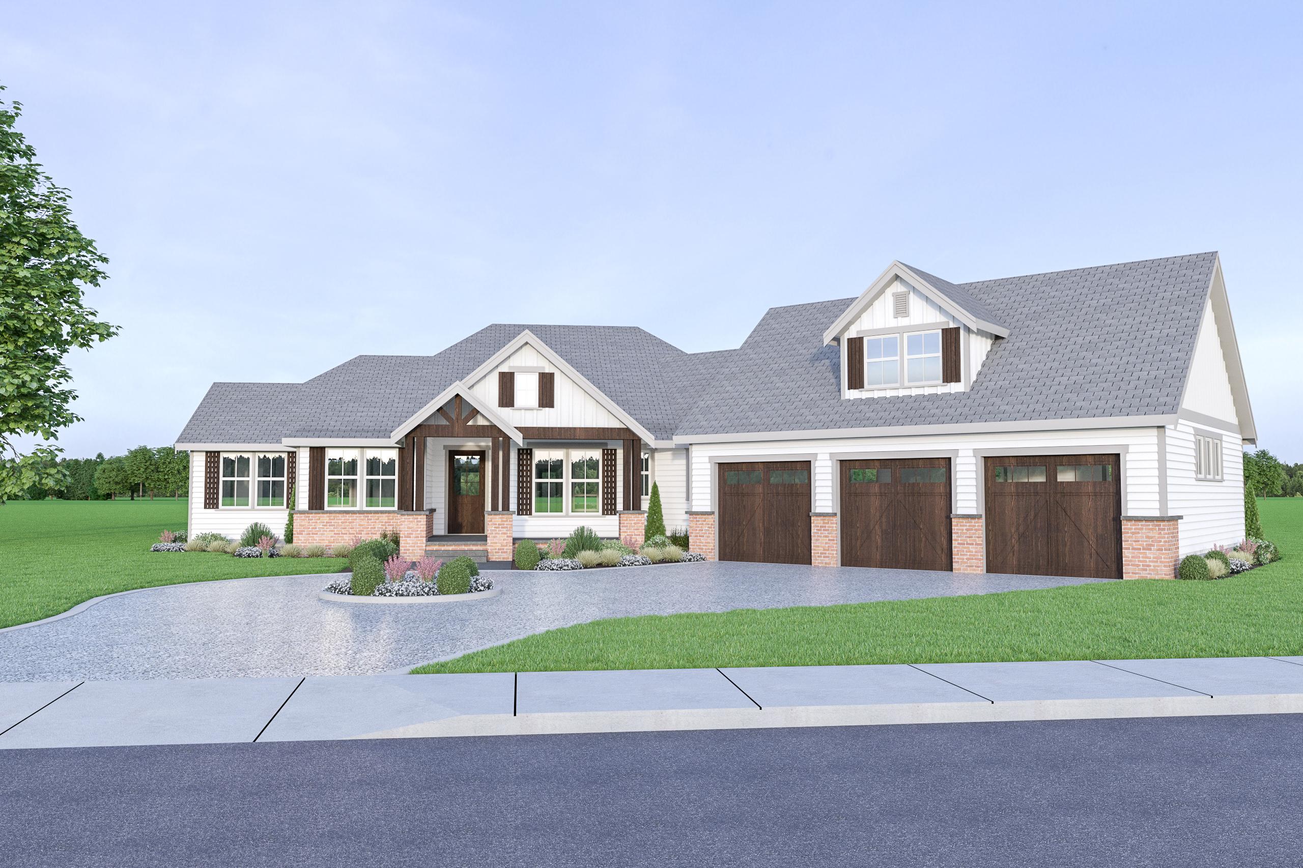 Contemporary Farmhouse 816 816