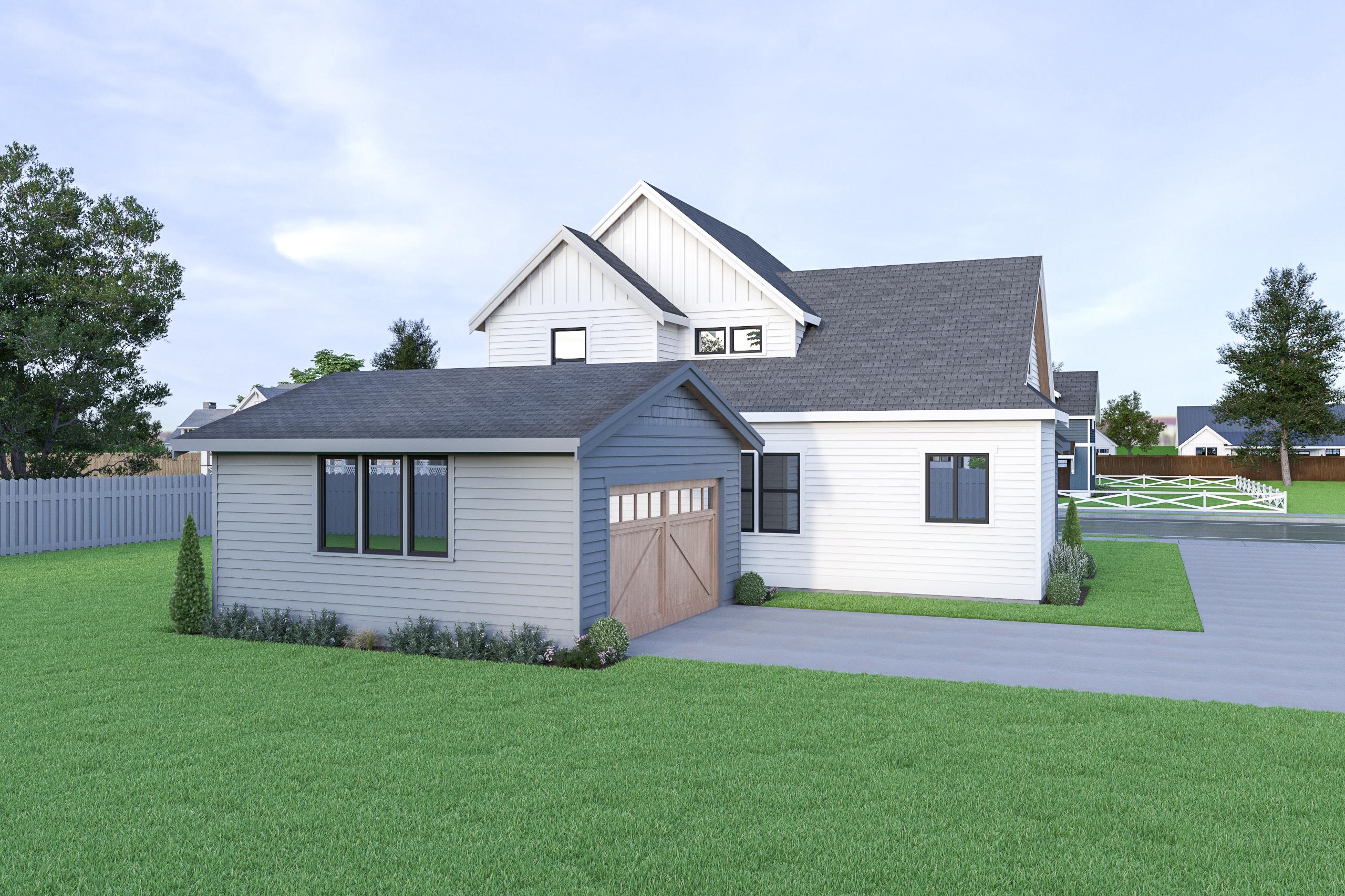 Contemporary Farmhouse 834