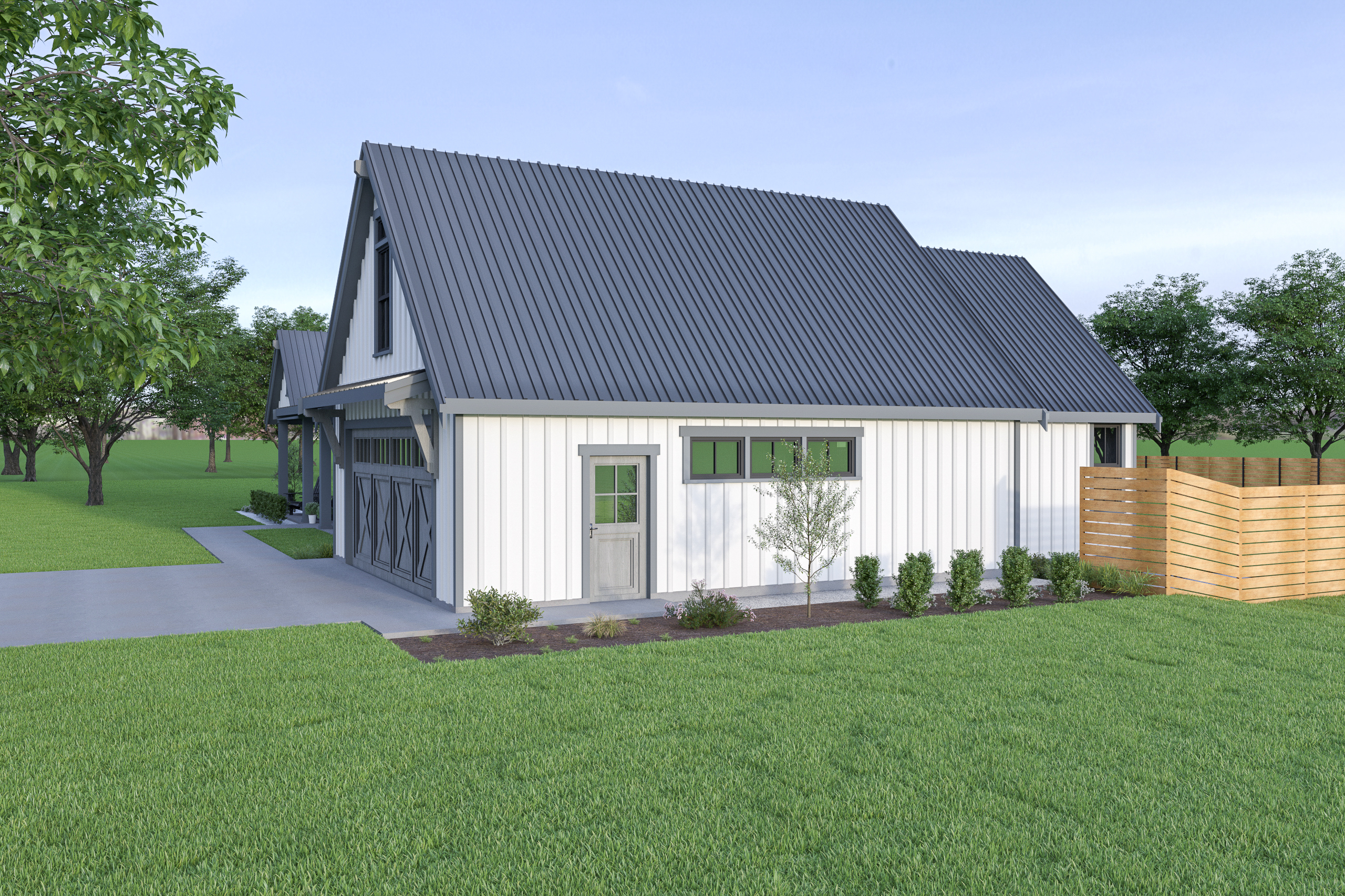 Contemporary Farmhouse 835