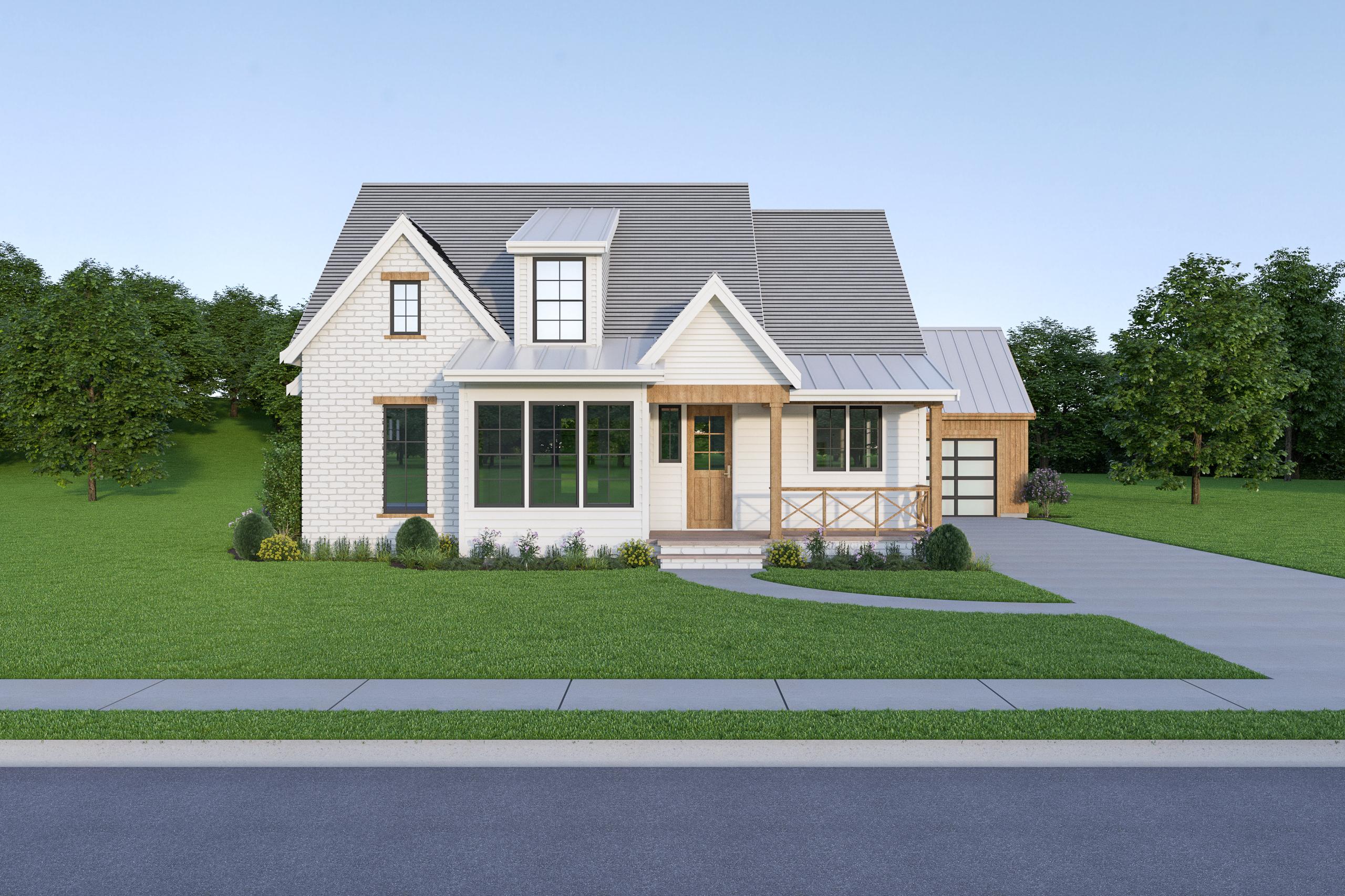 Contemporary Farmhouse 838 838