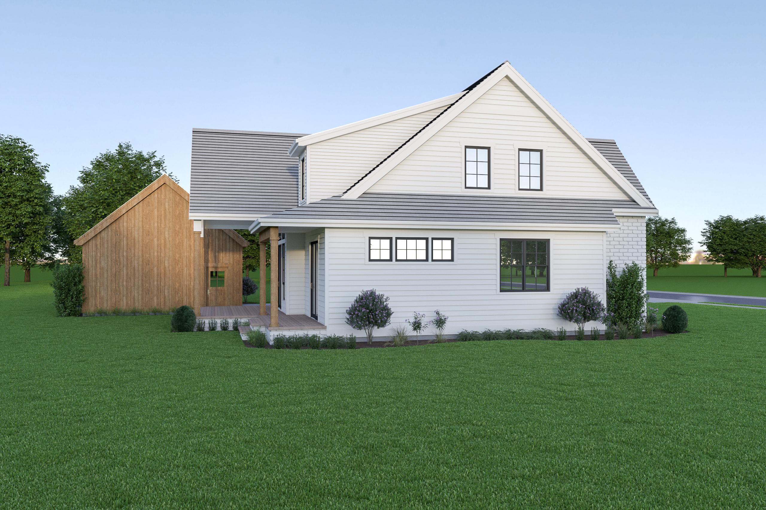 Contemporary Farmhouse 838