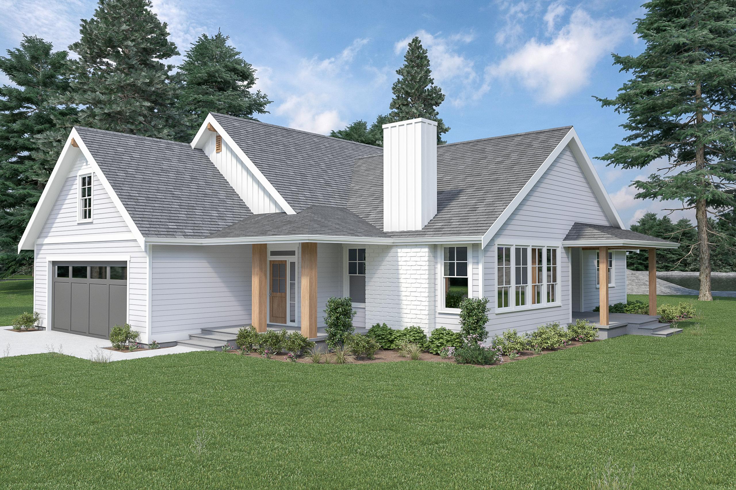 Contemporary Farmhouse 843