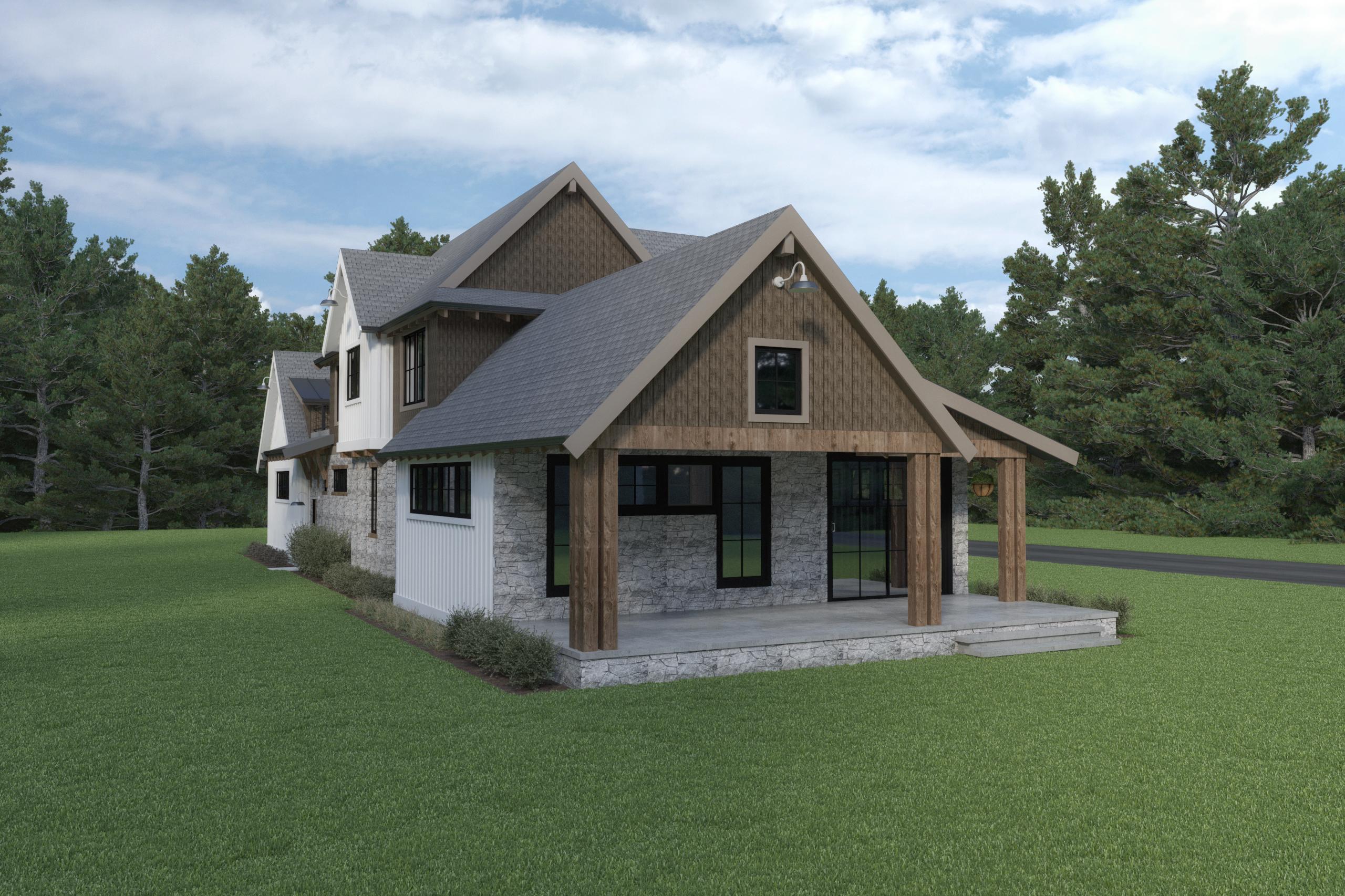 Contemporary Farmhouse 846