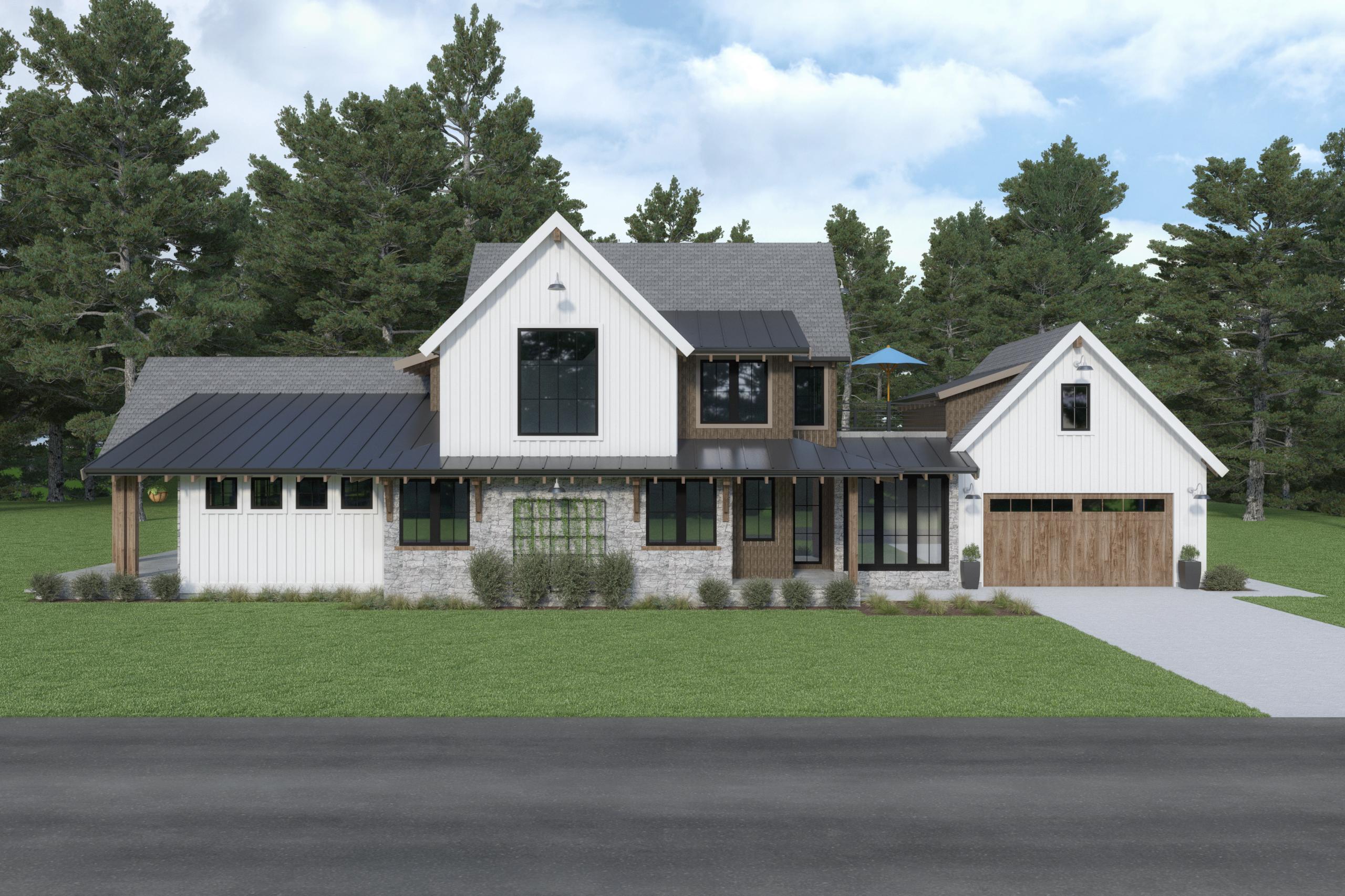 Contemporary Farmhouse 846 846