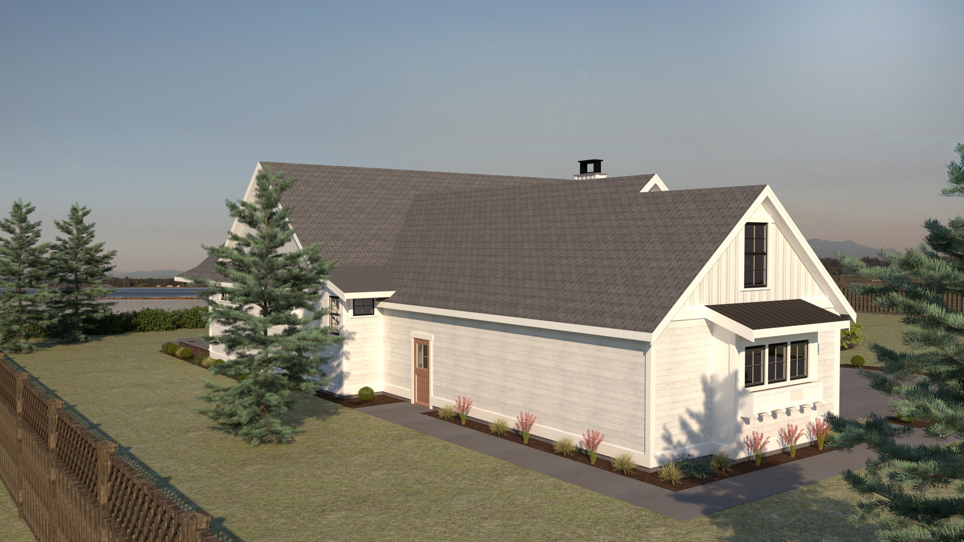 Contemporary Farmhouse 812