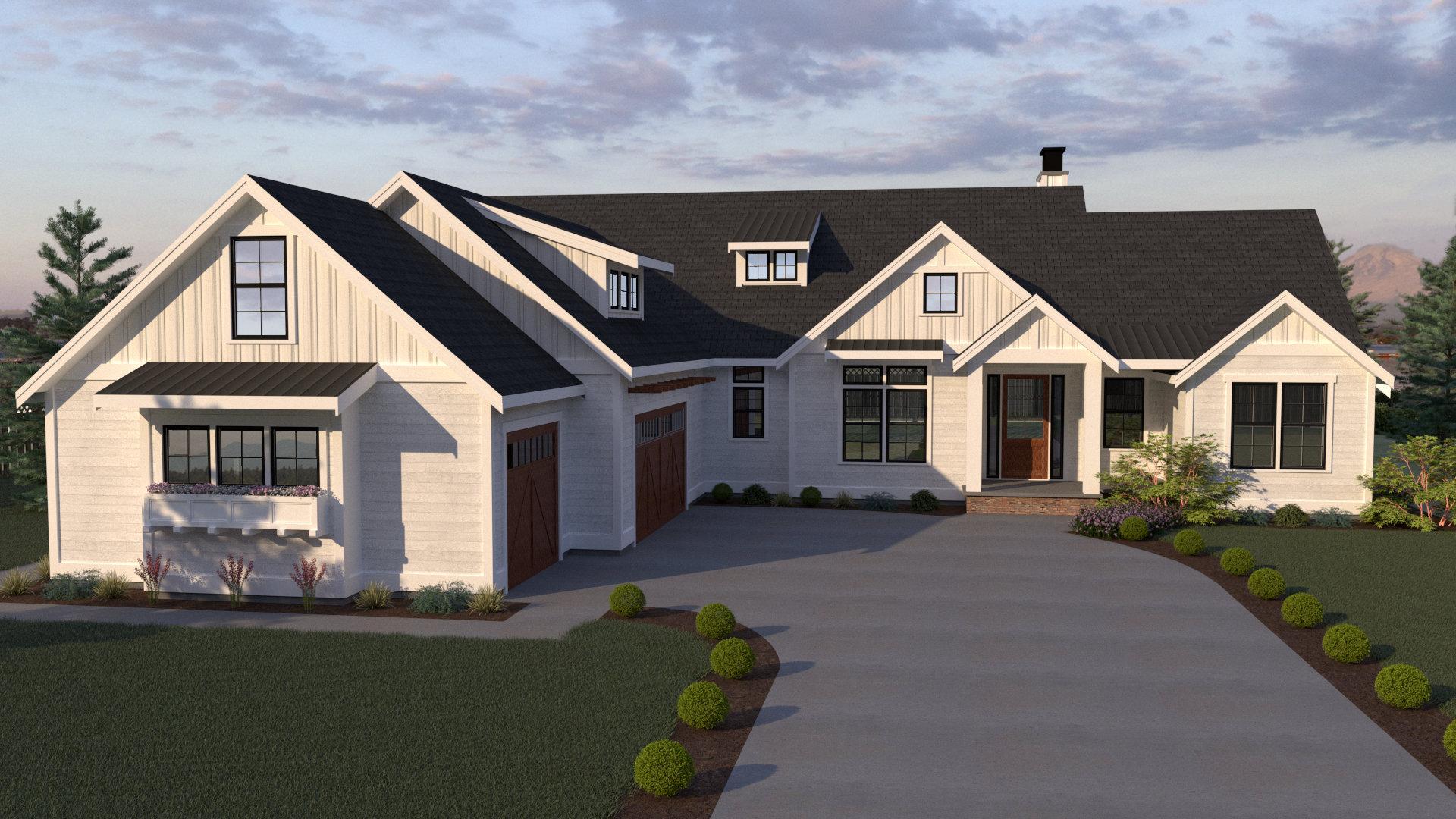 Contemporary Farmhouse 812 1