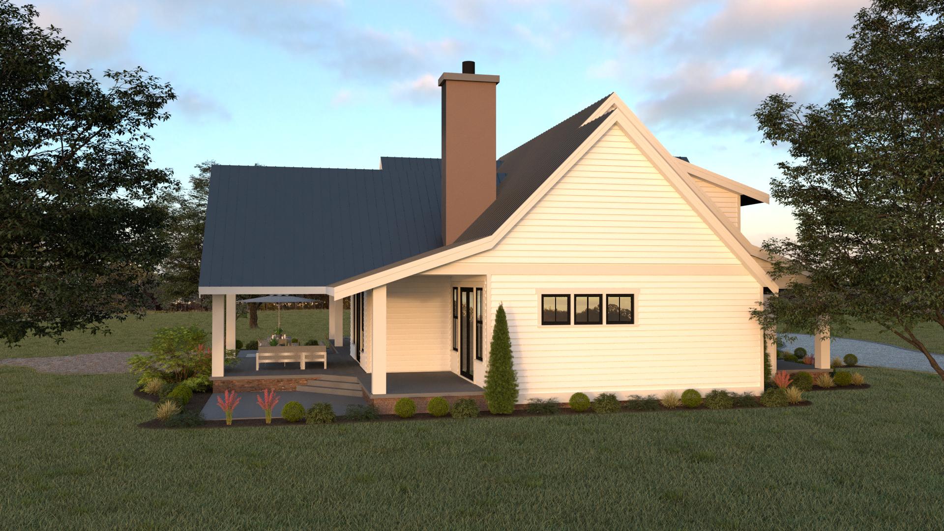 Contemporary Farmhouse 813