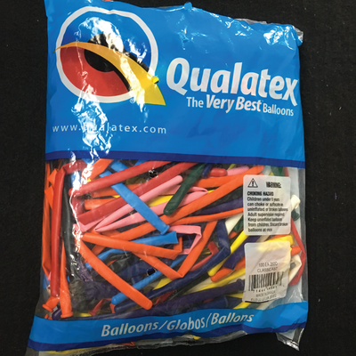 100 Multi-Colored 260 Balloons
