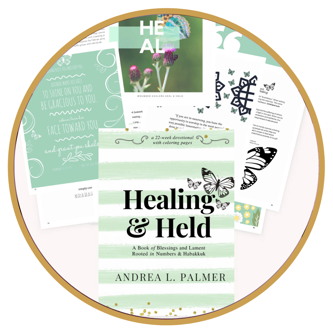 "eBook Download || Healing and Held - A Coloring Bible Devotional Journal by Andrea ""Mohawkmomma"" Palmer"