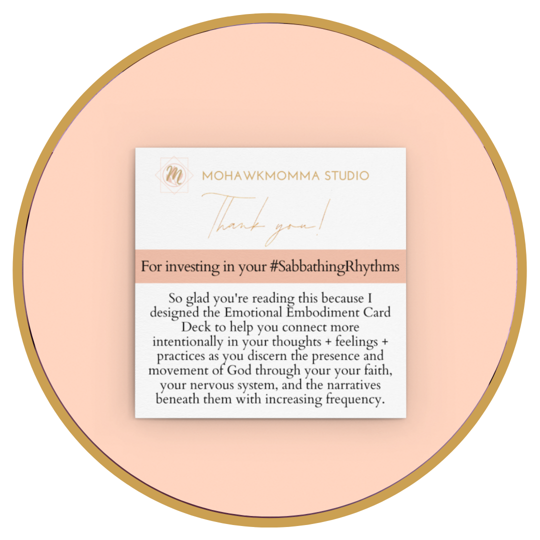 """Sabbathing Rhythms™ Design Collection 