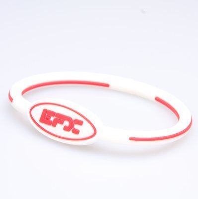 EFX WRISTBAND OVAL WH/RD