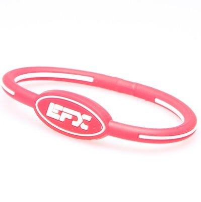 EFX WRISTBAND OVAL RD/WH