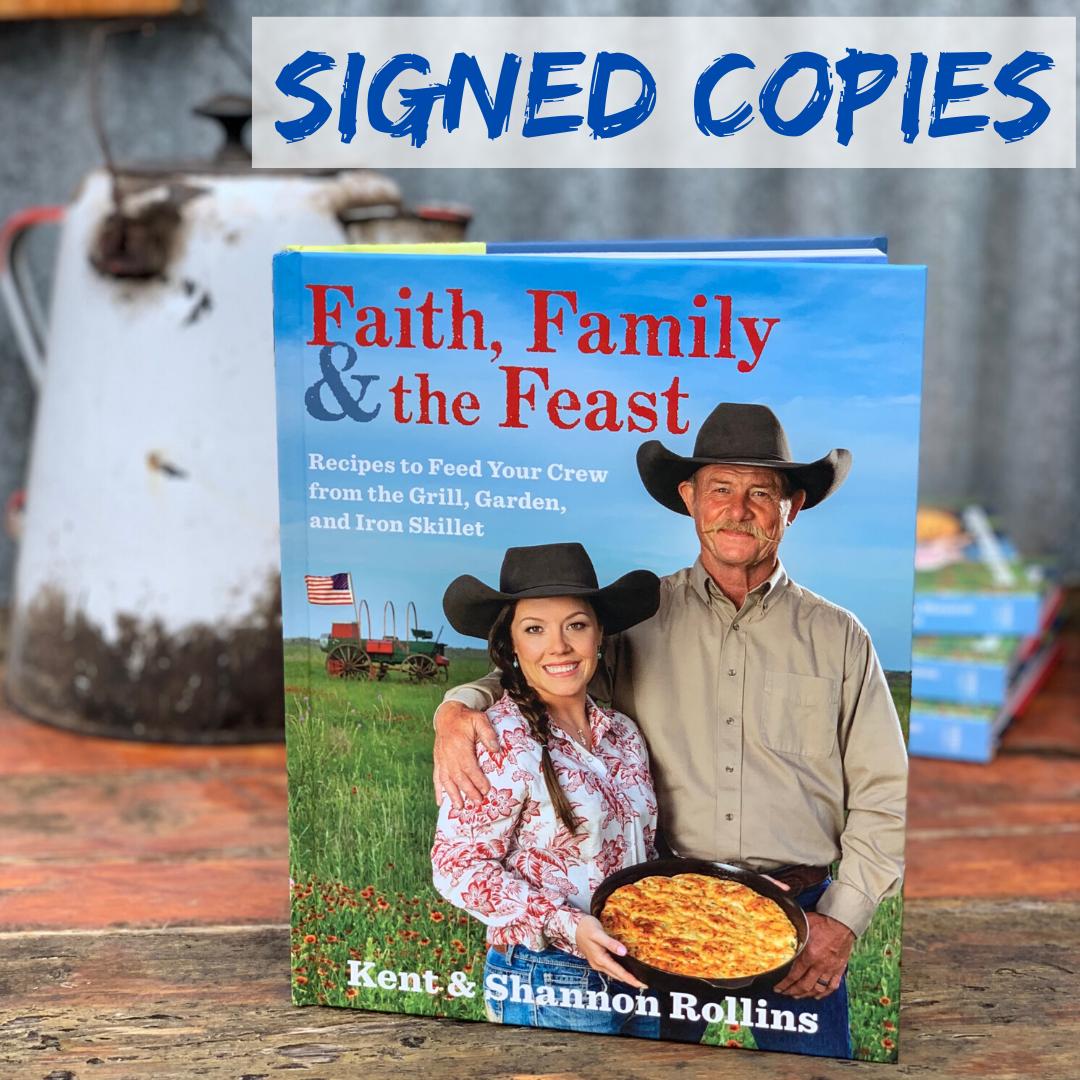 NEW! Faith, Family and the Feast Cookbook