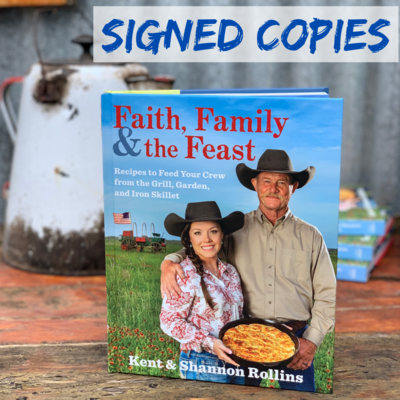 NEW! Faith, Family and the Feast Cookbook