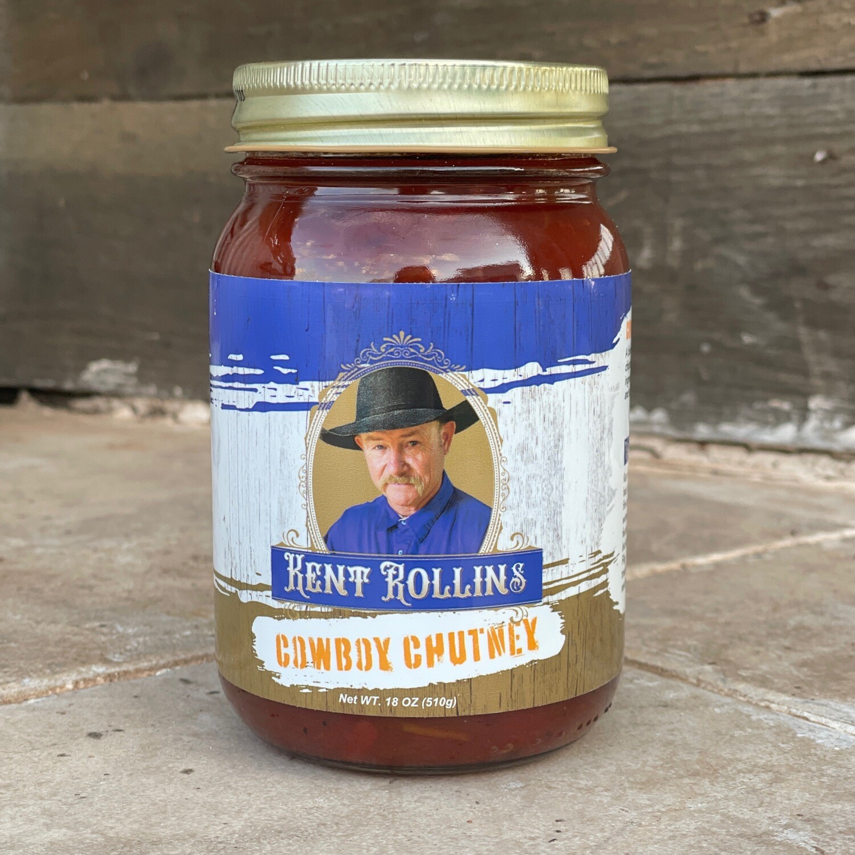 Cowboy Chutney (green chile chipotle relish)