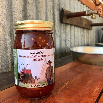 Green Chile Chipotle Relish