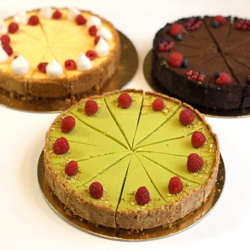 Zapečený cheesecake