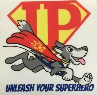 Iron Paws Classic Logo Sticker