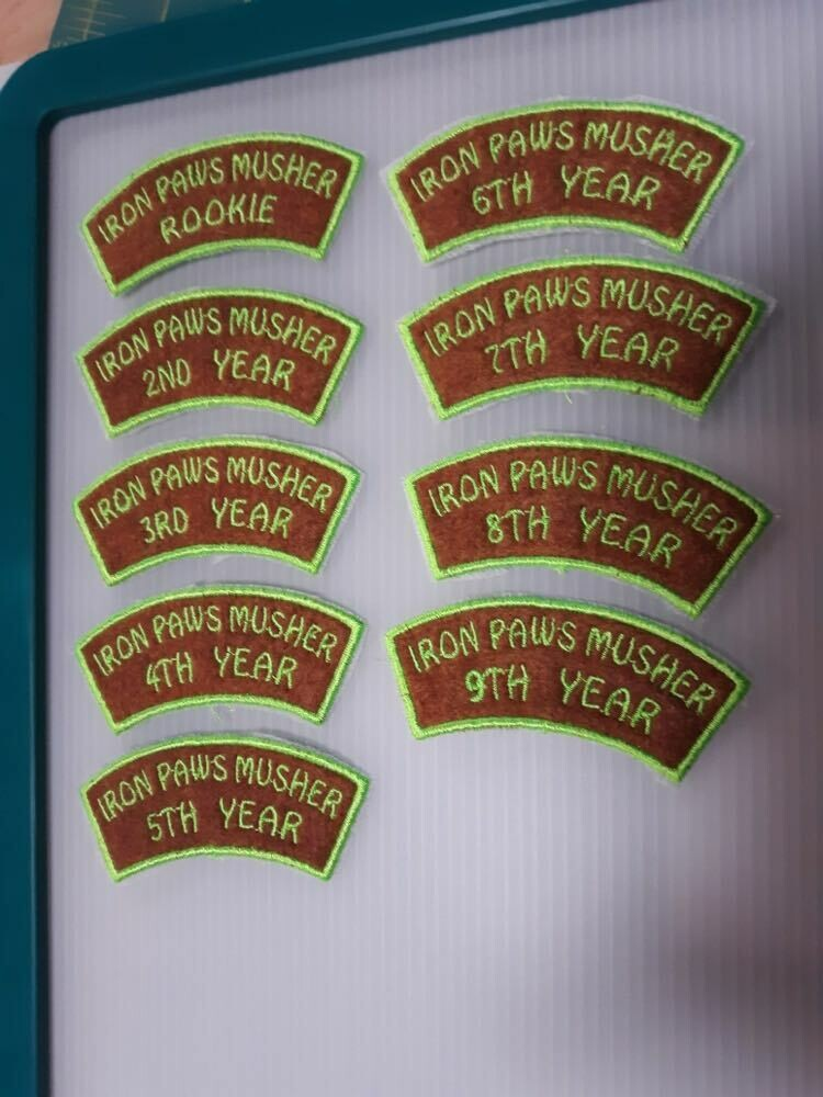 Iron Paws Annual Patches