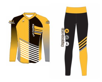 Veste de triathlon et legging de course
