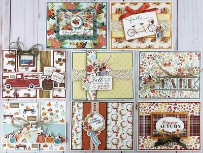 Carta Bella Fall Market Card Kit*
