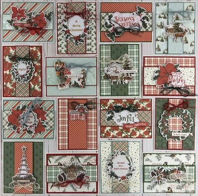 Simple Stories Simple Vintage Country Christmas Card Kit
