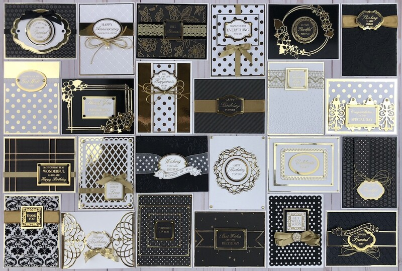 Kaiser With Love Black and Gold Card Kit