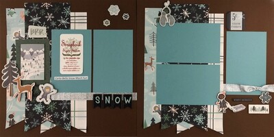 Carta Bella Snow Much Fun*
