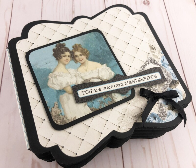 Authentique Glamour Mini Book Kit
