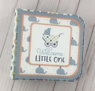 Echo Park Baby Boy Mini Book Kit