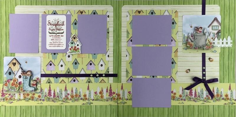 Craft Consortium Cottage Garden  Quick Quad