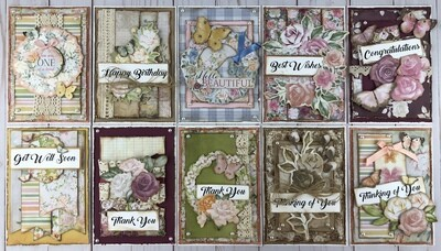 ​BoBunny Garden Grove Card Kit