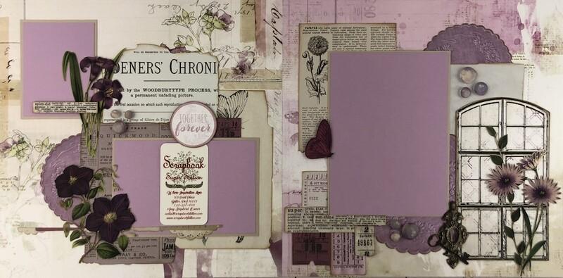 49 & Market Vintage Artistry Lilac