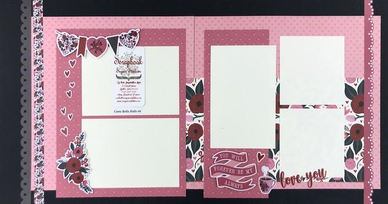 Carta Bella Hello Valentine #6