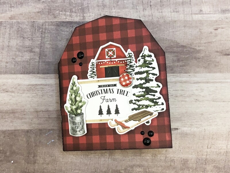 Carta Bella Farmhouse Christmas Barn Album