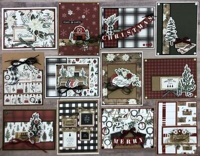 Carta Bella Farmhouse Christmas Card Kit