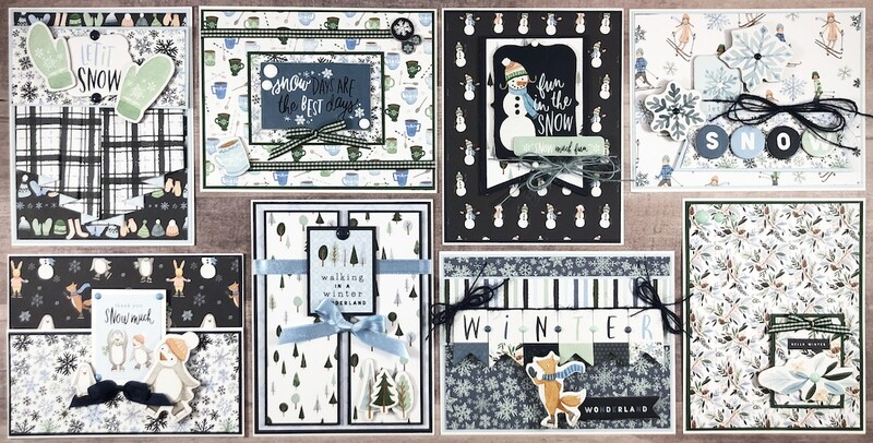 Carta Bella Winter Market Card Kit