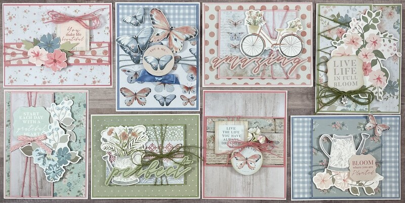 Kaiser Flower Shoppe Card Kit*