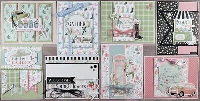 Carta Bella Flower Garden Card Kit*