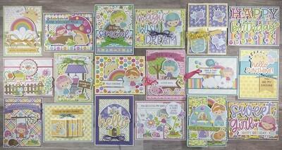 Doodlebug Fairy Garden Card Kit