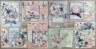 Prima Watercolor Florals Card Kit*