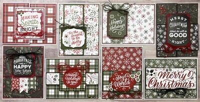 Echo Park Christmas Salutations Card Kit*