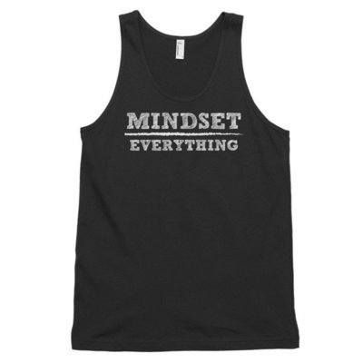 Mindset Over Everything tank top (unisex)