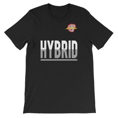 Hybrid Short-Sleeve Unisex T-Shirt