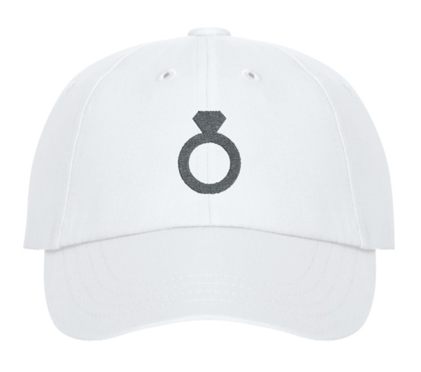 Bride to Be - Dad Hat - White