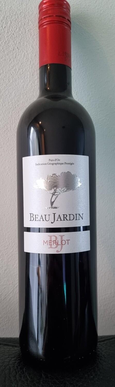 Frankrijk - Vin De Pays - Beau Jardin Merlot 2018