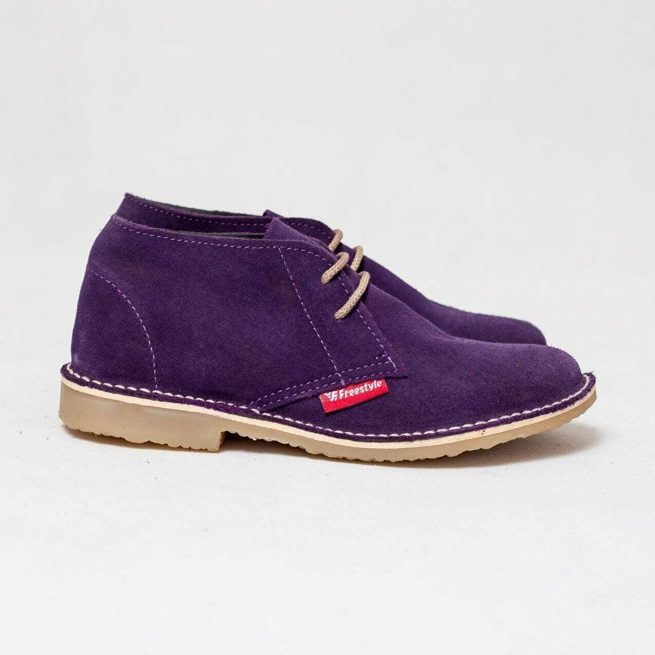 Veldskoen Suede Purple