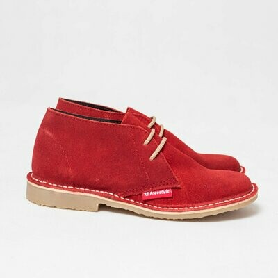 Veldskoen Suede Red